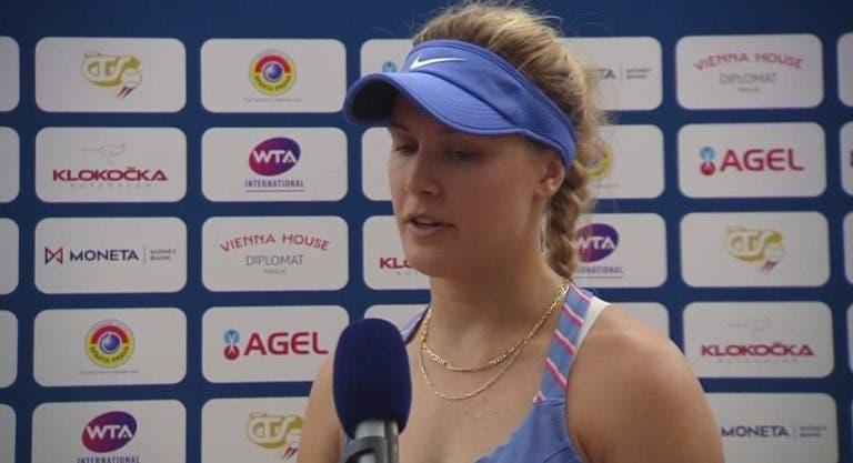 Bouchard luego de ganar en Praga: «Me siento orgullosa por cómo me mantuve enfocada»