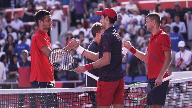 Djokovic está presente en el cuadro de dobles del Masters de Cincinnati
