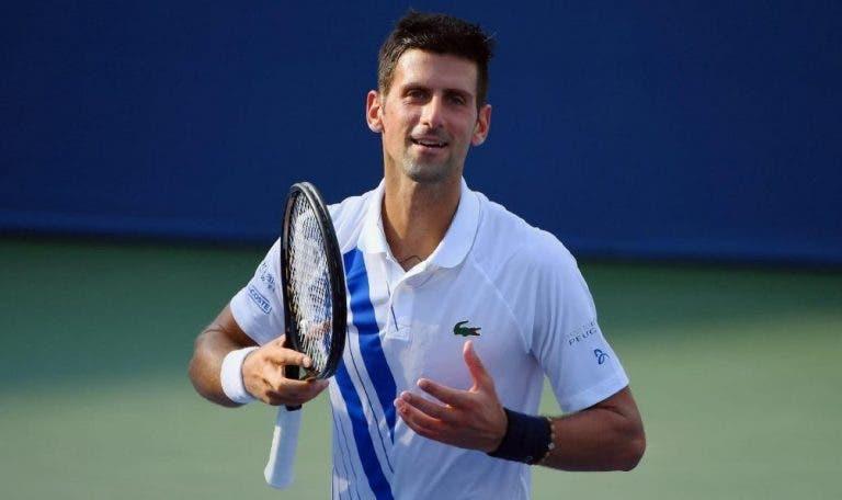 Djokovic se mantiene imbatible y avanza a la semifinal en Cincinnati