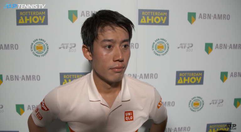 Kei Nishikori dio positivo por coronavirus antes de viajar a Nueva York
