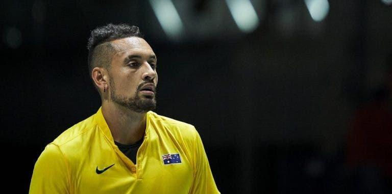 Kyrgios confirma que no competirá en el US Open