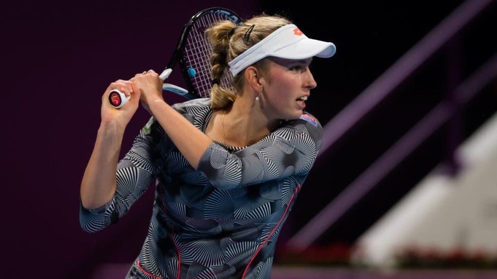 Elise Mertens queda eliminada en la primera ronda en Palermo