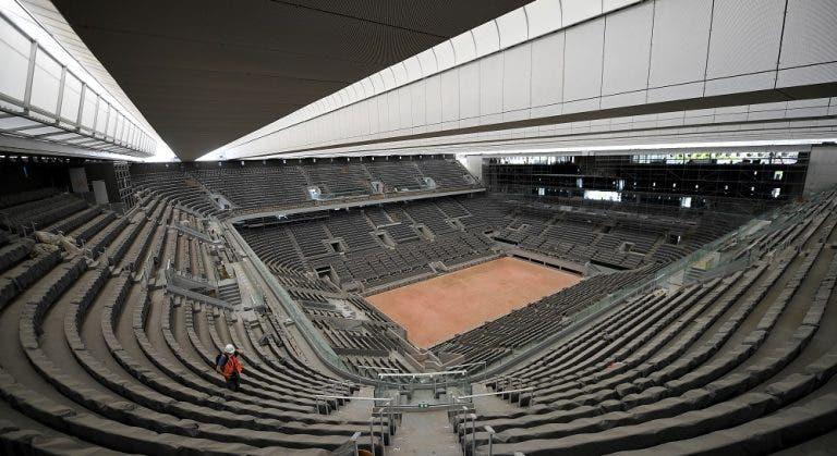 Aún no se decide si habrá o no público presente en Roland Garros