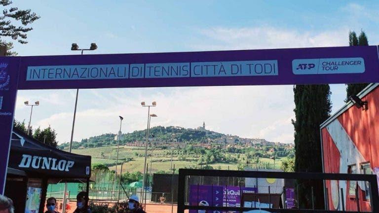 ATP confirma que tenista dio positivo por covid-19 en el Challenger de Todi