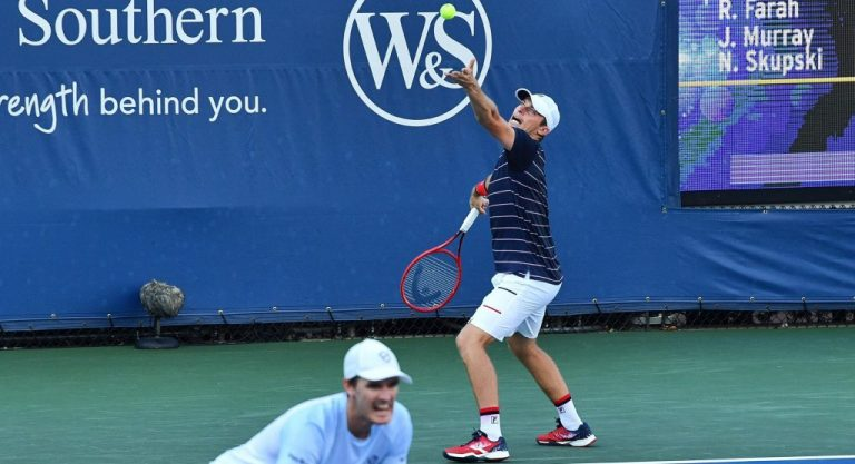 ¡Increíble! los tenistas de dobles no pueden hacer esto en Nueva York
