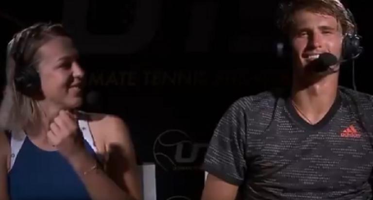 [VIDEO] Así 'ruge' Zverev después de ganar el UTS