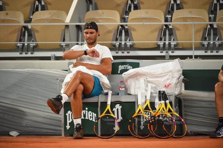 [VIDEO] Rafael Nadal está de regreso en Roland Garros