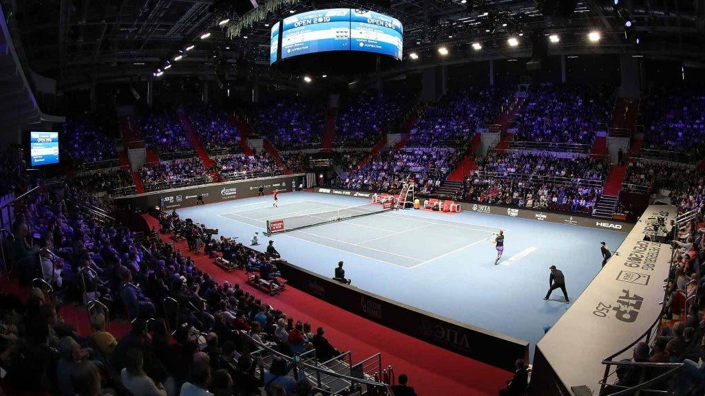 El ATP 500 de San Petersburgo permite 3.500 espectadores por día