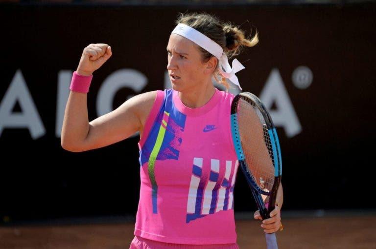 Azarenka arrasa con la campeona del Open de Australia y avanza a los 'octavos' en Roma