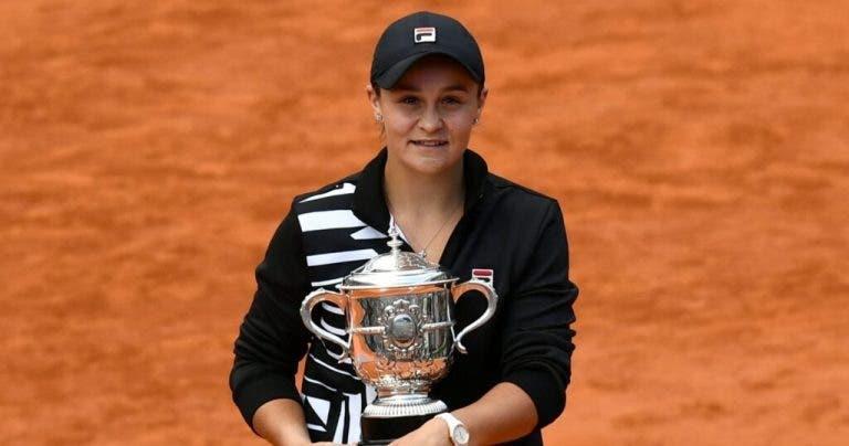 Ashleigh Barty anuncia que no jugará en Roland Garros