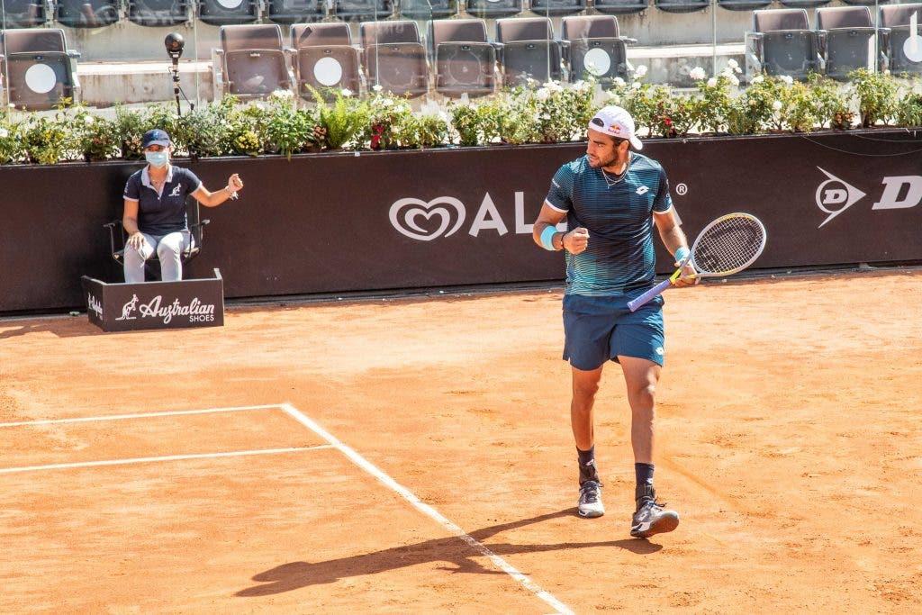 Berrettini y Dimitrov ya están en cuartos de final en Roma