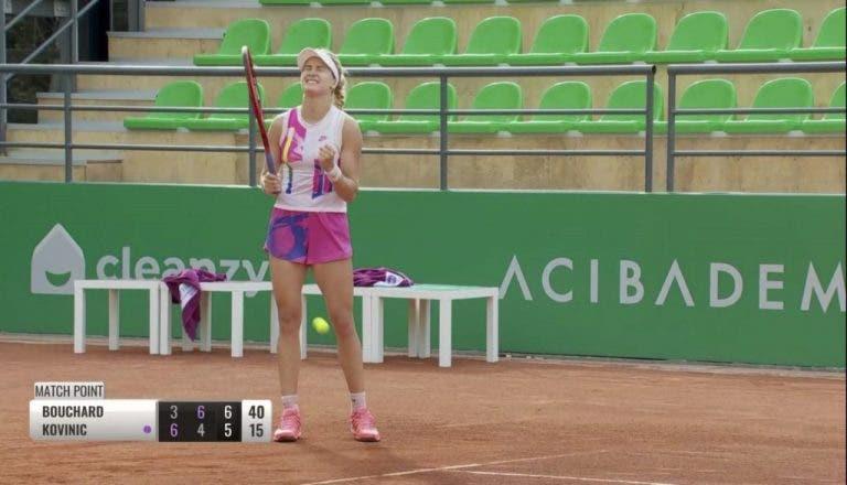 Bouchard continúa invencible y ya está en las semifinales en Estambul