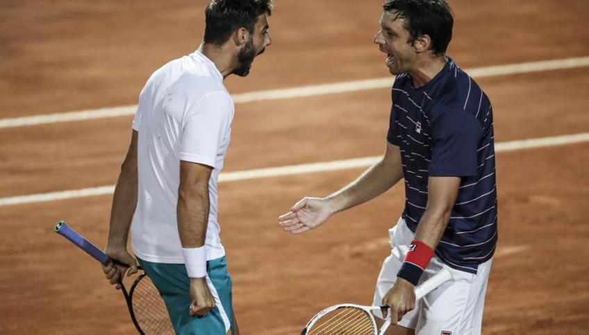 El torneo de Roma ya tiene campeones de dobles: Zeballos y Granollers ganan el titulo