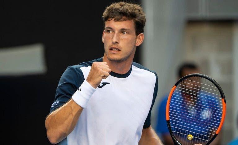 El español, Carreño Busta y Moutet se imponen en el US Open