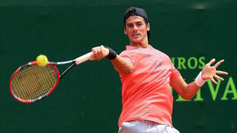 Coria avanza y Bognis cae en el Masters 1000 de Roma