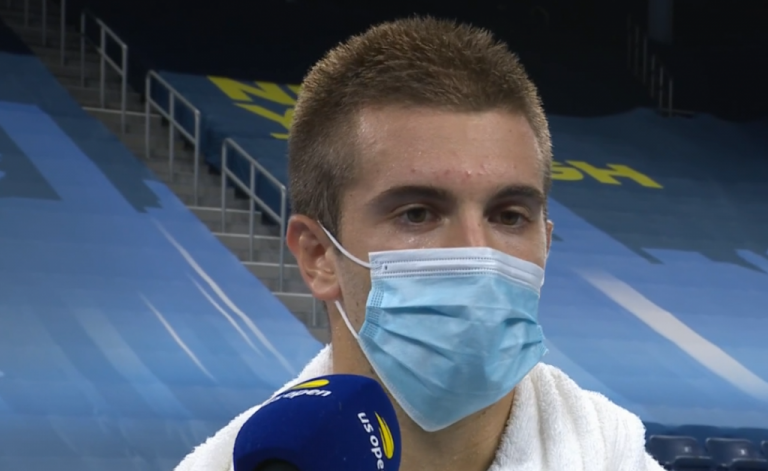 Borna Coric considera que no jugó tan mal ante Alexander Zverev