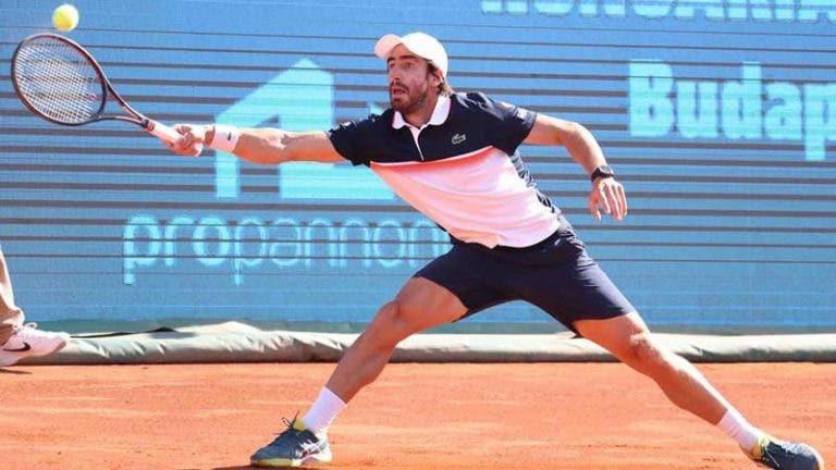 Cuevas vence en la primera ronda del ATP 500 de Hamburgo