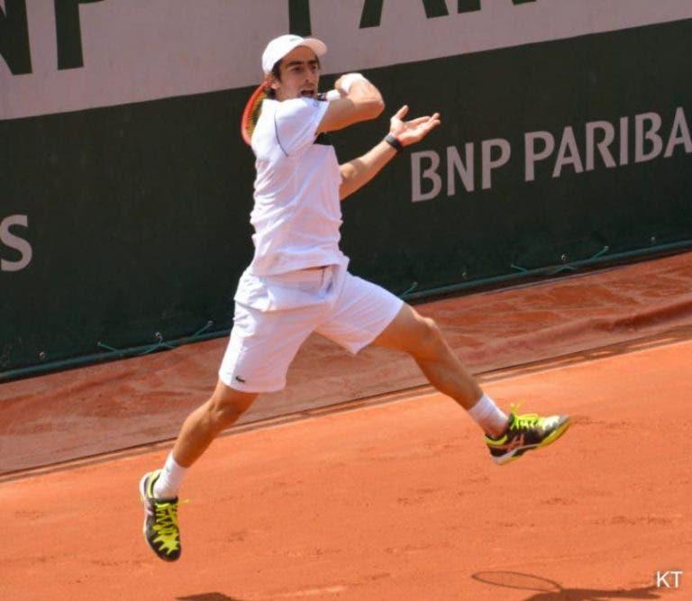 Pablo Cuevas cae ante Stefanos Tsitsipas en Hamburgo