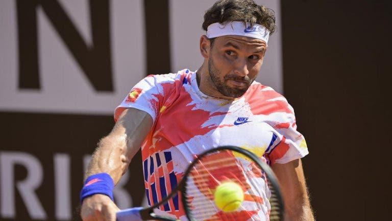 Dimitrov vence y ya Djokovic tiene oponente para los 'octavos' en Roma