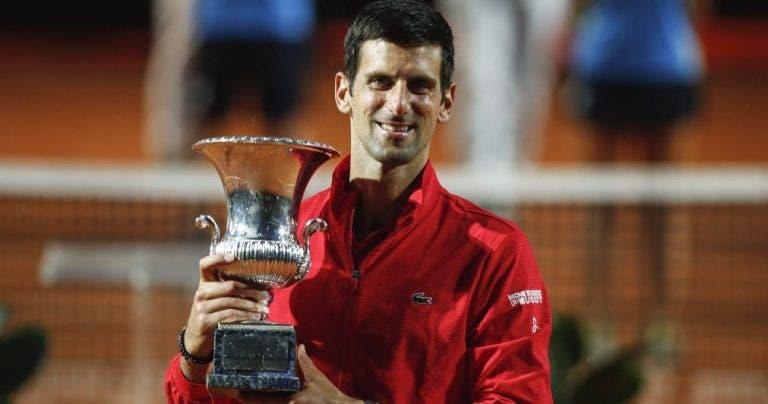 Djokovic garantiza el liderazgo hasta noviembre y amenaza el récord de Federer