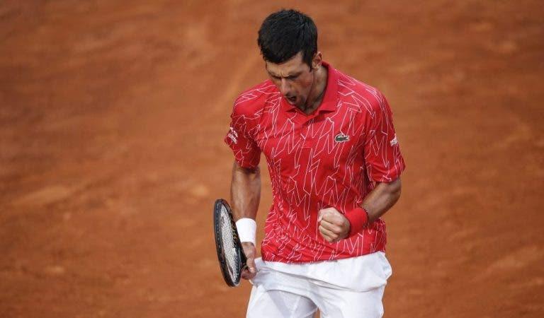 Djokovic es el campeón de la edición 2020 del Masters de Roma