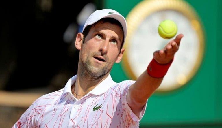 """Djokovic vence en un gran encuentro y ya está en """"cuartos"""" en Roma"""