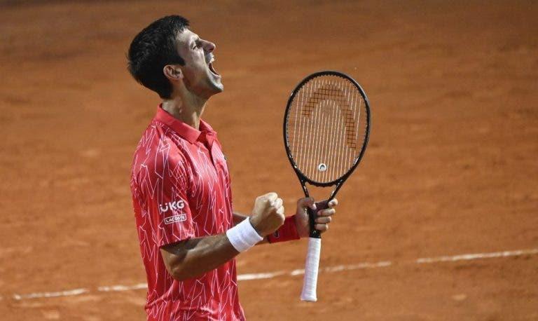 [VIDEO] Punto que le devuelve el estatus de rey a Djokovic en los Masters 1000