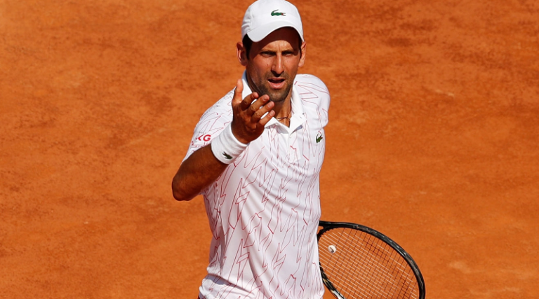Djokovic debuta con victoria en el Masters 1000 de Roma