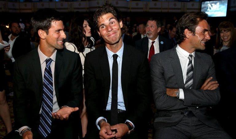 Djokovic dice que Federer y Nadal ya sabían de la asociación de jugadores