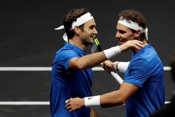 Hace tres años Federer y Nadal jugaban codo a codo por 1° (y única) vez