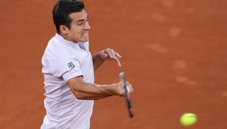 Cristian Garín cae en la primera ronda del Masters de Roma
