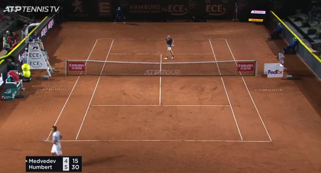 [VIDEO] Humbert hace uno de los más increíbles puntos del año