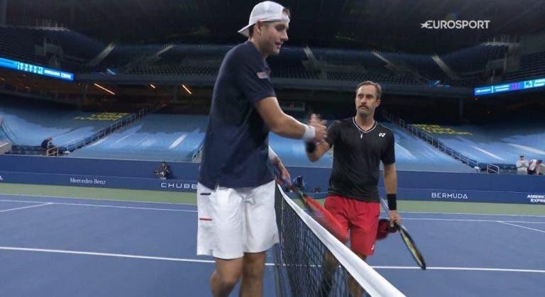 John Isner pierde en la primera ronda del US Open