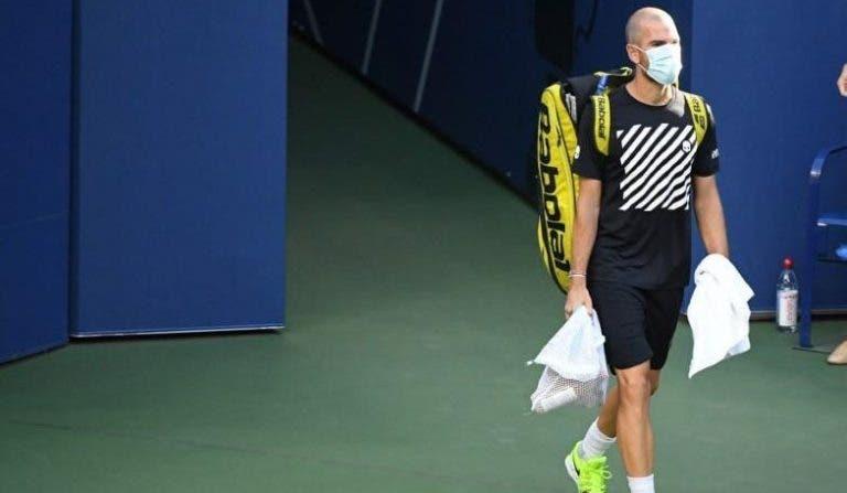 Mannarino explica su retraso en su partido de este viernes en el US Open