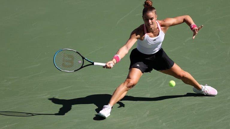 María Sákkari es la primera vencedora del día y avanza en el US Open