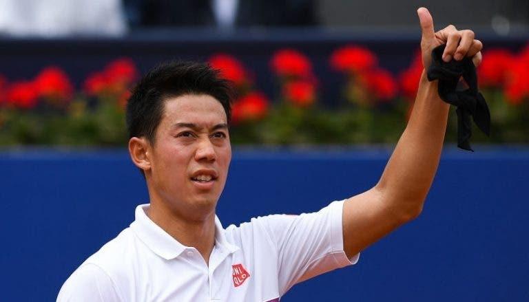 Nishikori vence y está en la 2° ronda del Masters 1000 de Roma
