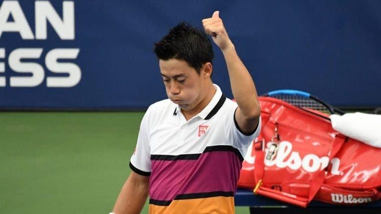 """Nishikori vuelve a los torneos pero no logra pasar a """"octavos"""" en Kitzbühel"""