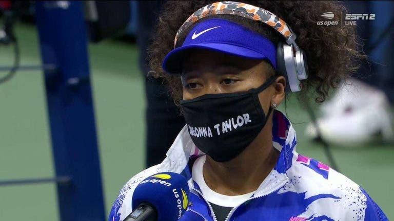"""Osaka muestra su apoyo al """"Black Lives Matter"""" a través de sus mascarillas"""