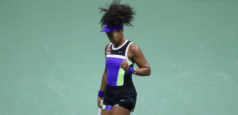 Osaka resiste y logra pasar a la segunda ronda del US Open