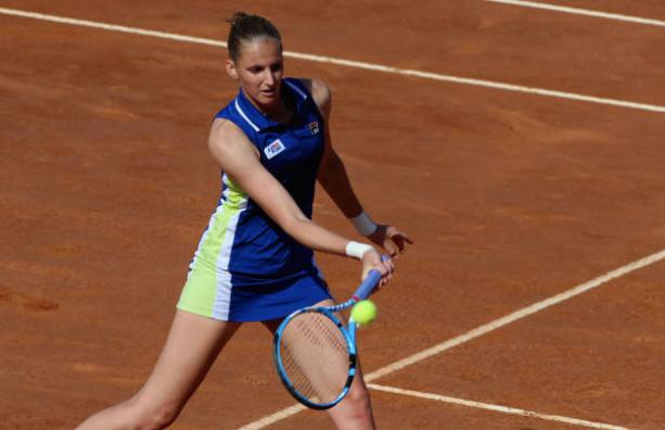 Pliskova pisa fuerte y ya está en los 'octavos' del Premier 5 de Roma