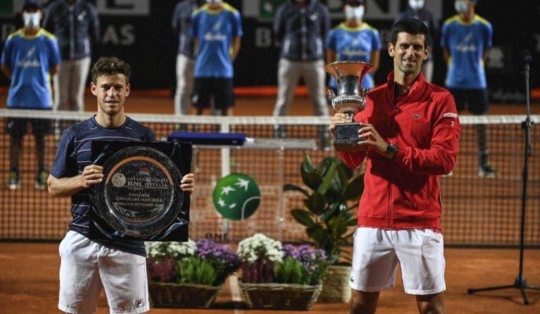 Schwartzman: «Novak ha tenido muchas finales así y sabe cómo jugarlas»