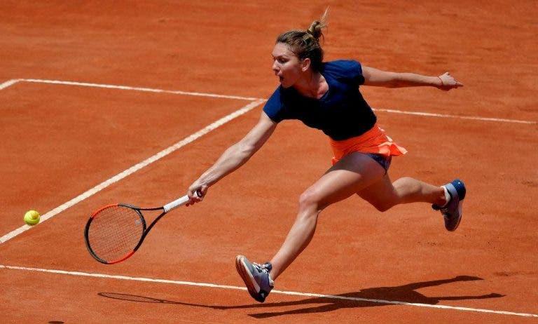 Simona Halep vence en la segunda ronda del Premier 5 de Roma