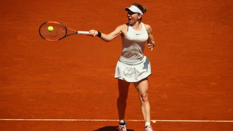 Simona Halep asegura un lugar en los cuartos de final de Roma