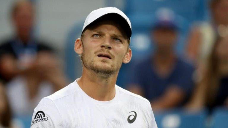David Goffin pisa los octavos de final este viernes en el US Open