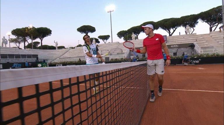 Koepfer elimina a Musetti y ya está en los cuartos de final en Roma