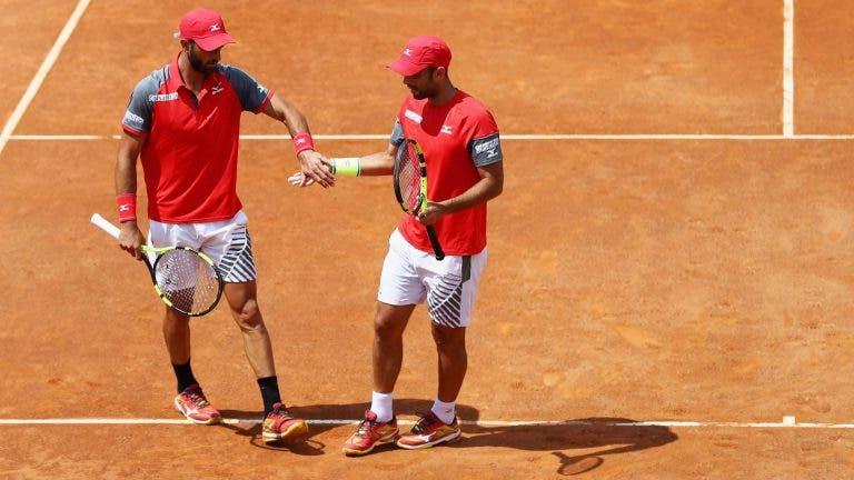 Latinos caen en dobles en el Masters 1000 de Roma