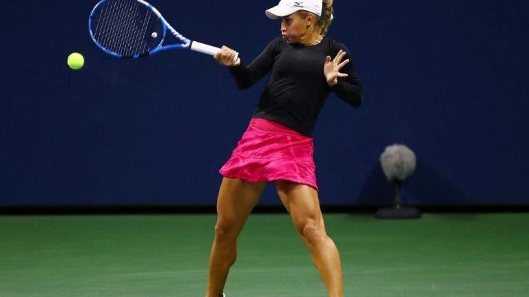 Por 1ª vez, Yulia Putintseva avanza a los cuartos de final en el US Open