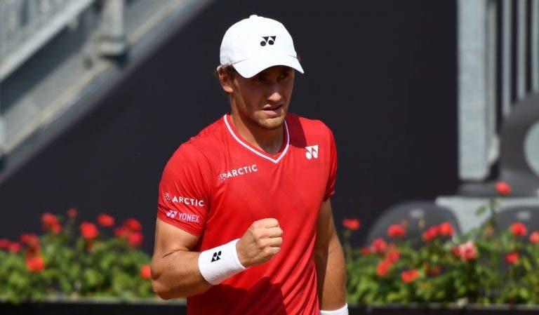 Ruud derrota a Berrettini y avanza a semifinales de Masters 1000 por primera vez