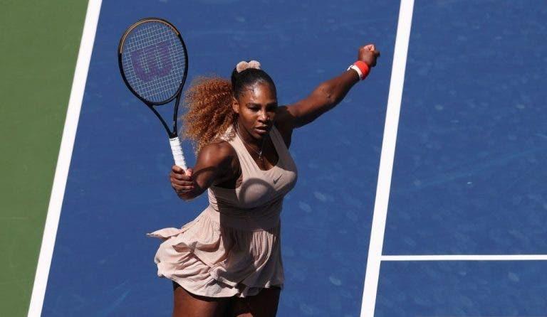 Serena Williams vence a Sakkari y clasifica a los 'cuartos' del US Open por 15ª vez