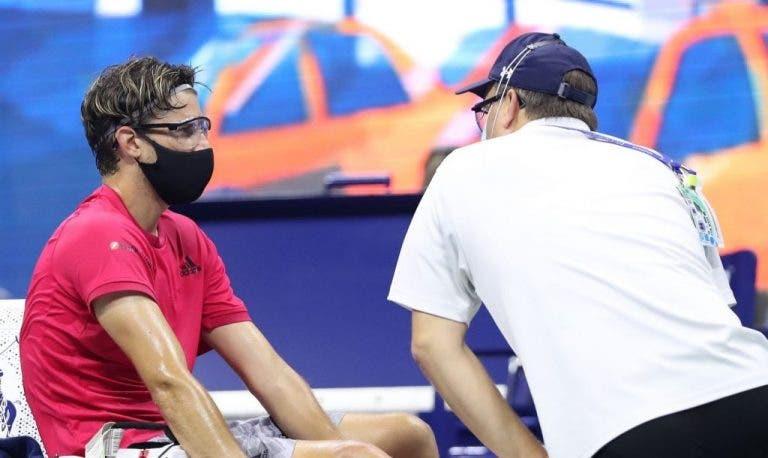 Thiem se lesionó en el pie derecho pero SÍ juega la final del US Open